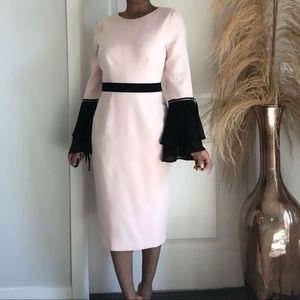 Ny&co midi pink dress